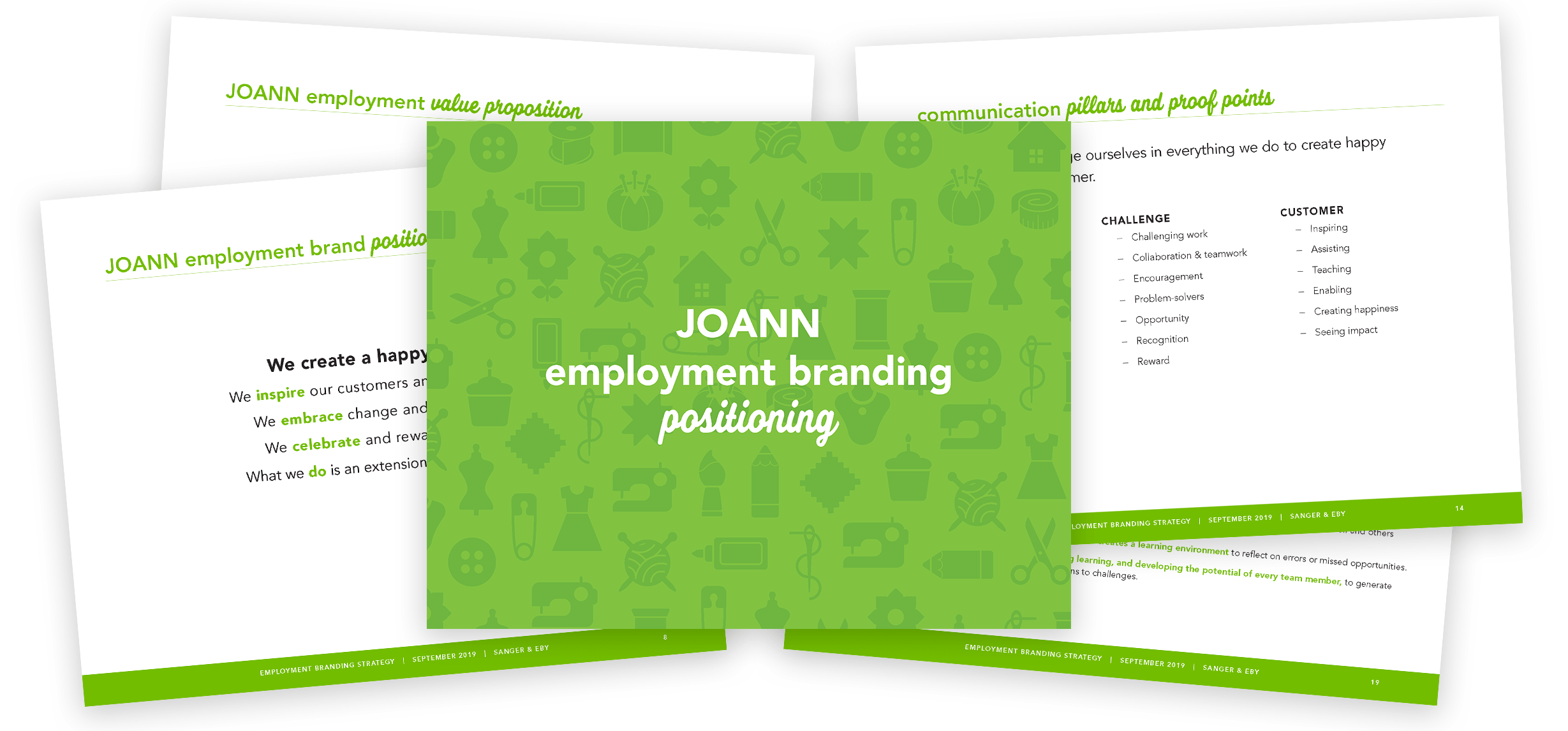 JOANN employer branding presentation